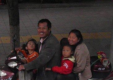 Kunming, China: People, people who need people . . .