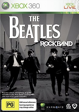 THE BEATLES ROCK BAND 2009: One, two, a-one-two-three-faaa