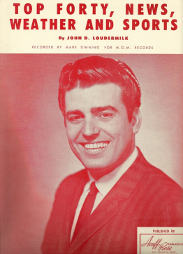 Mark Dinning: Top Forty, News, Weather and Sports (1961)