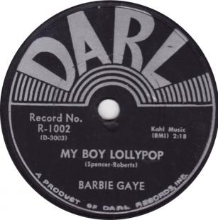 Barbie Gaye: My Boy Lollypop (1956)