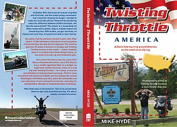TWISTING THROTTLE AMERICA By MIKE HYDE: Hello, I must be going.