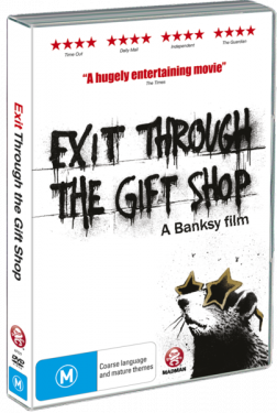 EXIT THROUGH THE GIFT SHOP: A BANKSY FILM (Madman DVD)