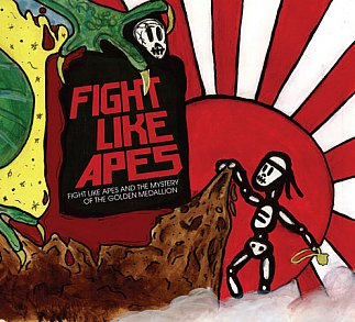 Fight Like Apes: Fight Like Apes and the Mystery of the Golden Medallion (Shock)