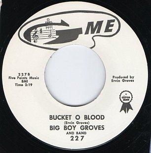 Big Boy Groves: Bucket o Blood (1962)