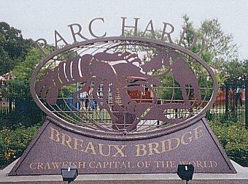 Breaux Bridge, Louisiana: In Cajun country