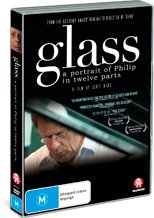 GLASS, A PORTRAIT OF PHILIP IN TWELVE PARTS, a documentary by SCOTT HICKS (Madman DVD)