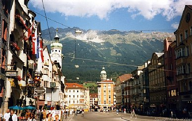 Innsbruck: The imagined mountains
