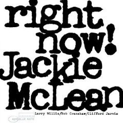 Jackie McLean: Right Now! (1965)