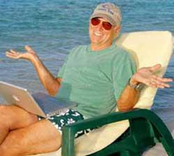JIMMY BUFFETT INTERVIEWED (2011): Sail on sailor