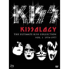 KISSOLOGY; THE ULTIMATE KISS COLLECTION Vol 1, 1974-77 (Shock DVD)