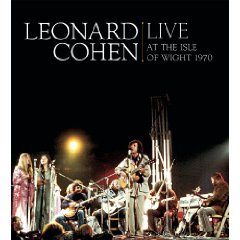 Leonard Cohen: Live at the Isle of Wight 1970 (Sony CD/DVD)