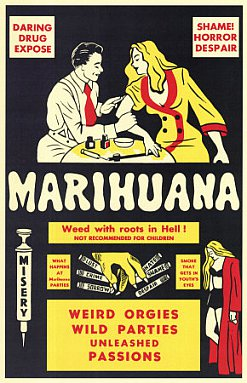HOOKED: ANTI-DRUG FILMS FROM THE 30'S TO THE 70'S (Rocket/Triton DVD): Marijuana to murder in 15 minutes