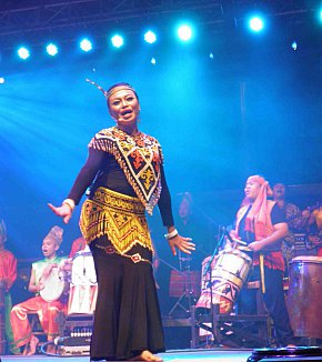 THE RAINFOREST WORLD MUSIC FESTIVAL (2104): A tale of two events