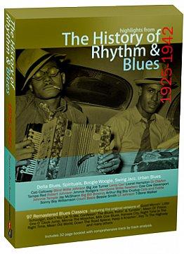 Various Artists: The History of Rhythm and Blues 1925-1942 (Rhythmandblues/Southbound 4 CD Set)